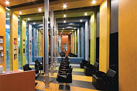 Le Fringe hair salon by Giant Design Consultants is the winner of this year's Fly Forbo competition.