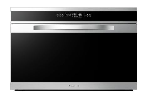 The Black Krystal OMF9022 oven has fifteen cooking functions.