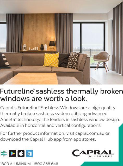 Futureline sashless thermally broken windows are worth a look