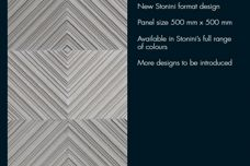 Stonini decorative wall panels from Di Emme