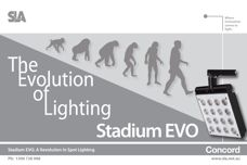 Stadium Evo lighting – evolution