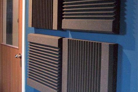 SA 600/75 acoustic panels absorb sound across a wide frequency range.