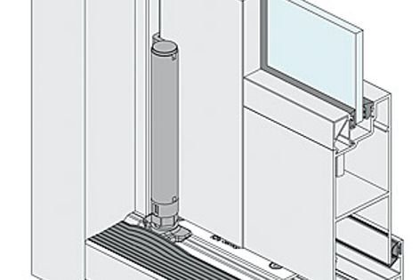 Bi-fold door system from AWS