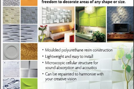 Decor panels from Display Design