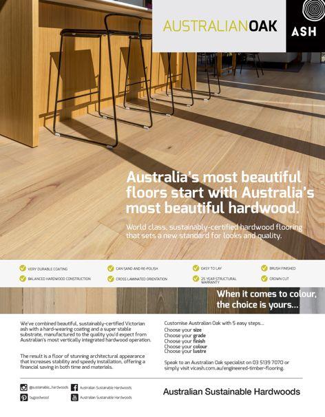 Australian Oak engineered flooring by ASH