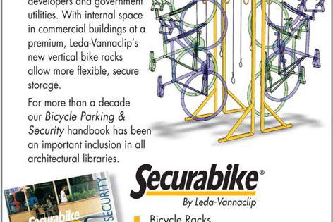 New Securabike bike racks