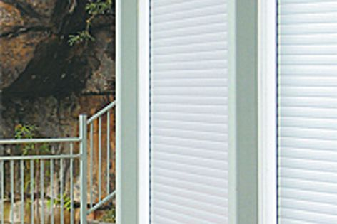 Blockout Roller Shutters feature a rigid, interlocking aluminium construction for added security.