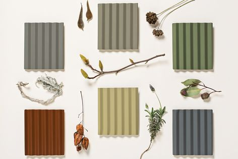 The six new colours are Terrain®, Wallaby™, Cove™, Gully™, Basalt™ and Mangrove™.