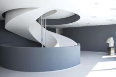 Acrylic solid surfaces with design flexibility