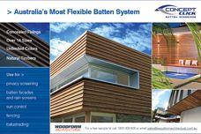 Woodform's Concept Click batten system