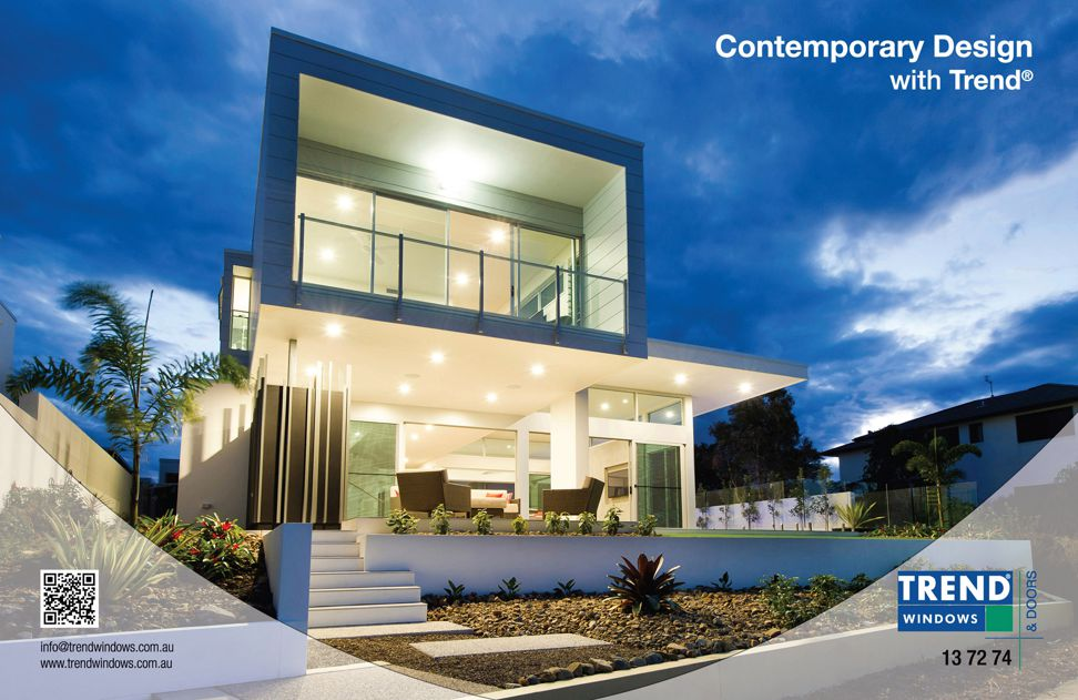 Contemporary design by Trend Windows and Doors