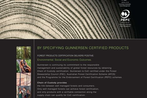 Gunnersen's certified products