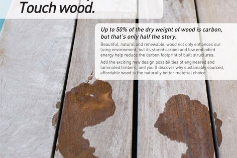 Wood for green design