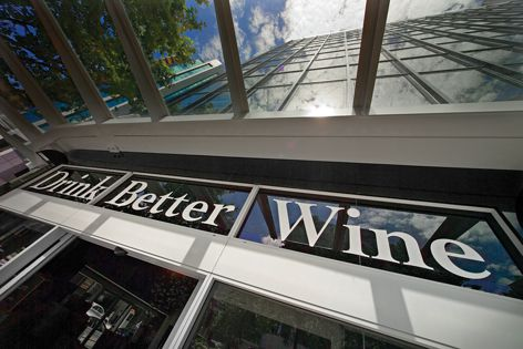 HPWF decorative film can be used for signage on retail businesses.