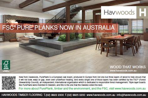 PurePlank range from Havwoods