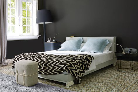 Ligne Roset's Anna bed is a classic yet sophisticated haven to dream the night away.