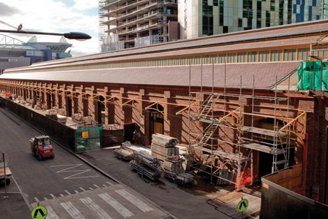 The Equiset's Goods Shed is the largest refurbished heritage roof of its kind in Australia.