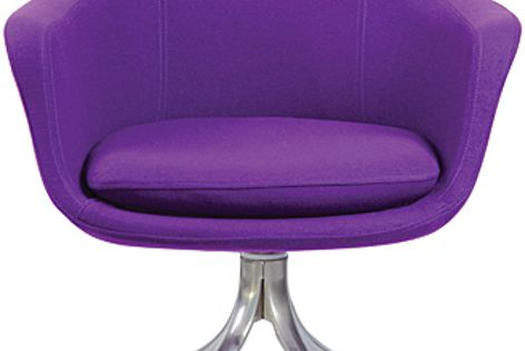 The Chia is a fun chair, with a relaxed yet iconic look.