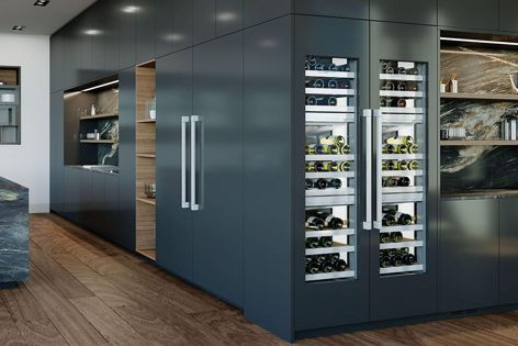 The cabinet provides three individual temperature zones, each with a temperature range of 5°C to 20°C.