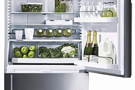 Fisher and Paykel's ActiveSmart technology keeps a consistent temperature.