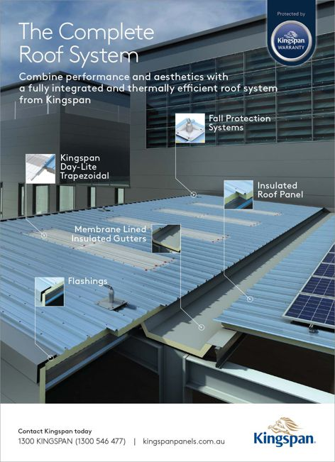 Complete roof systems from Kingspan