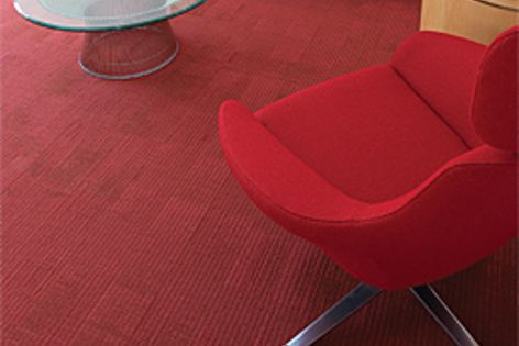 New concepts have been applied to GEO Flooring's ranges, including Powerbond, shown here.