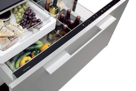 Fisher and Paykel's Izona CoolDrawer will store food and drink for optimum freshness.