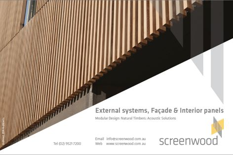 External and facade panels by Screenwood