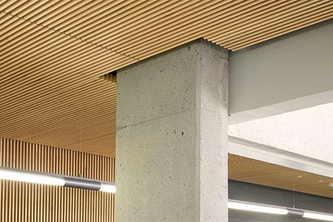 Screenwood panels were used at Griffith University in Brisbane. Specifier: ArkLab.