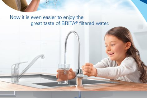 Filtered water system by Brita Water