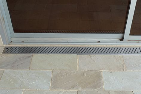 Veitch's channel and grate products are made from 316-grade stainless steel.