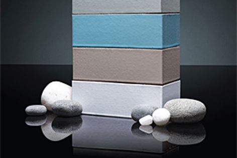 The Seascape collection of bricks is inspired by the sea and its surrounding landscape.