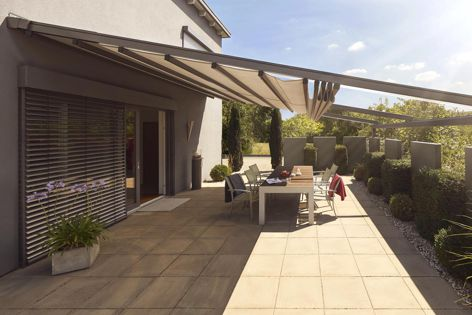Warema pergola awnings from Shade Factor