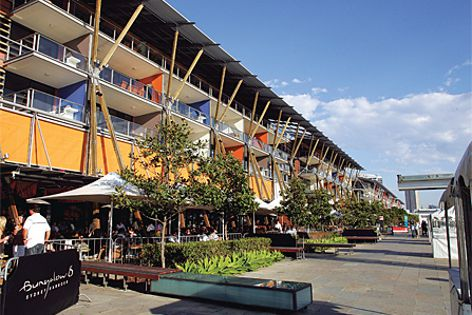 King Street Wharf used Vertiroll shading to increase the energy efficiency of the building.