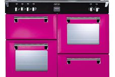 Colour Boutique range cookers from Glen Dimplex