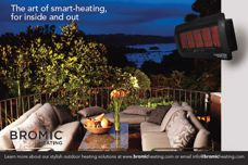Outdoor heating by Bromic