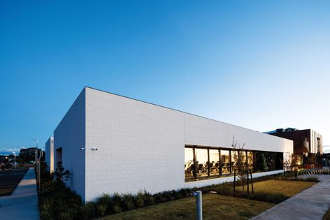 Austral Masonry's GB Masonry collection was used at Club Armstrong in Victoria, designed by Hayball.