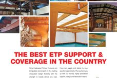 Hyne engineered timber products
