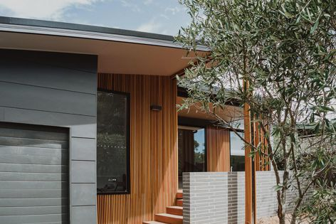 Timber cladding by Wellington Architectural