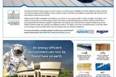 MetecnoSpan roofing system by Bondor