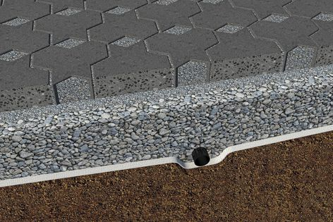 Adbri Masonry offers permeable pavers in a variety of colour tones.