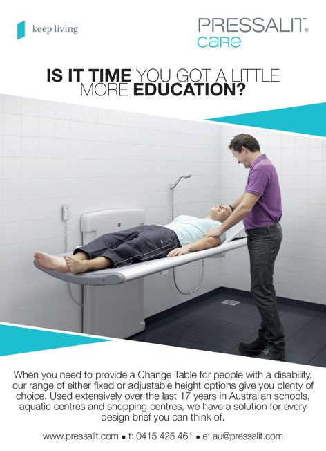 Change tables by Pressalit Care