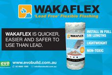 Wakaflex flashing from Evo Building Products