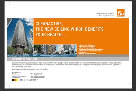 AMF Cleanactive ceiling