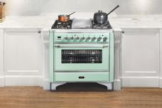 Custom-coloured handcrafted ovens from Ilve