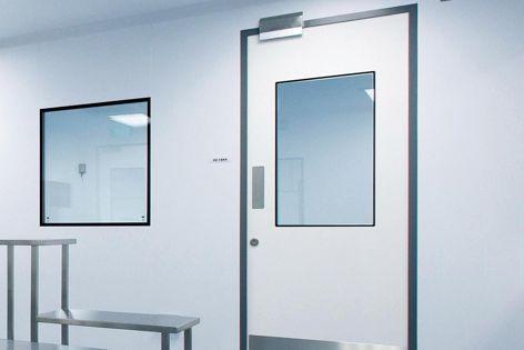 Dortek GRP hygienic swing and sliding doors