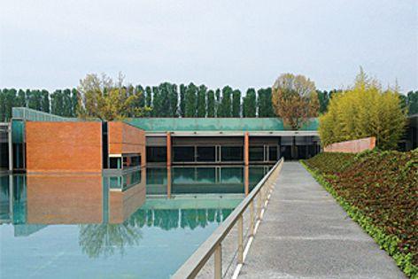 The Smeg headquarters in Reggio Emilia, Italy.