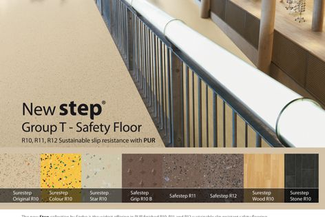 New Step Group T safety flooring