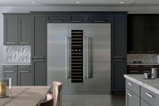 Sub-Zero integrated refrigeration and wine storage