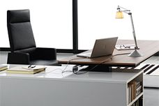 Planeta desk from James Richardson Corporation